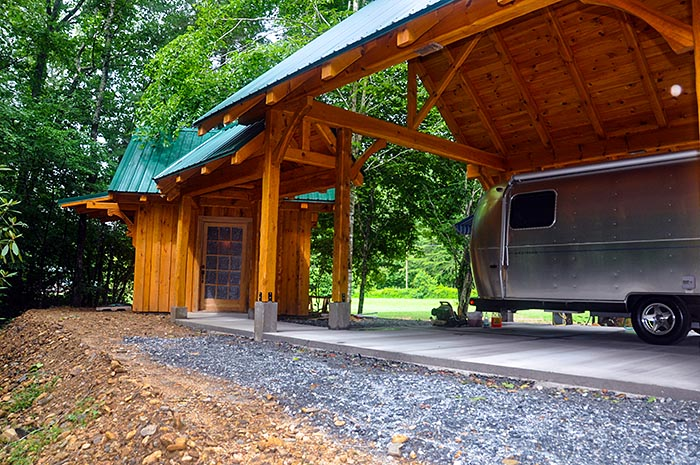 Glamping in the North Carolina Mountains - Luxury AirStream