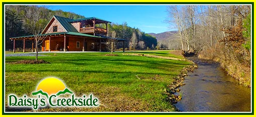 Daisy's Creekside North Carolina Creekside Cabin Rental