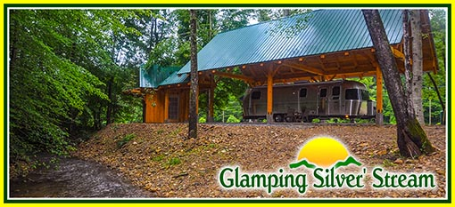Glamping Silver Stream Available For May 1st 2019 Golden Valley North Carolina South Mountains