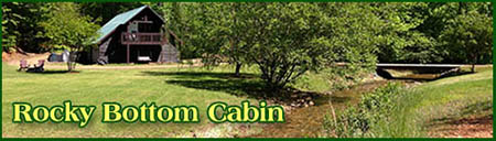 Rocky Bottom Cabin Rental